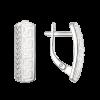 Ohrstecker mit Zirkonia und Emaille