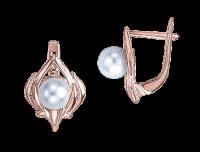 Ohrhänger mit echter Perle