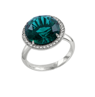 Ladies Ring with zirconia