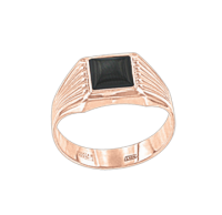 men's ring with Onix