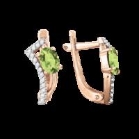 Ohrhänger mit Chrysolith