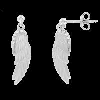 Ohrstecker Flügel mit Zirkonia
