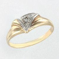 Damenring mit Diamant ,585°
