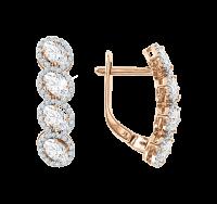 Ohrhänger mit Swarovski Kristall