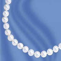 Perlenkette 45 cm