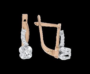 Ohrhänger mit Brillanten