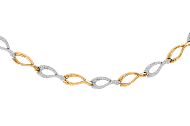 Gelbgold Collier oder Armband