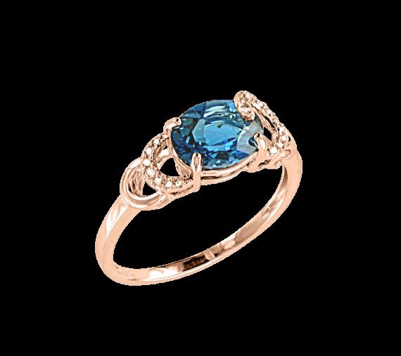 Ladies Ring with Brillant