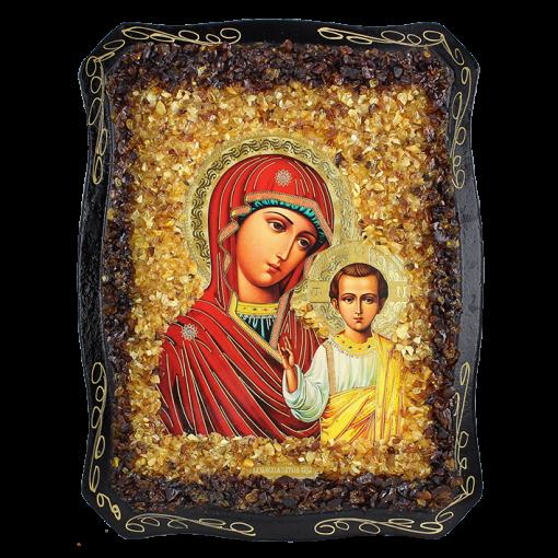 Orthodoxe Ikone der Kasanskay Gottesmutter