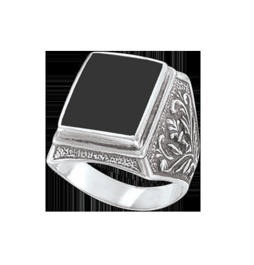 Herrenring  Juwelier W.Keilbach | Herrenring mit Onyx | Großhandel mit ...