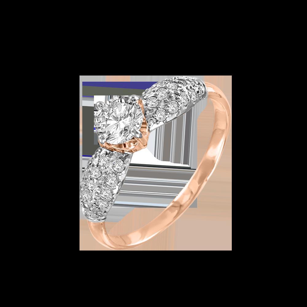 99aa012c5de88 Ladies Ring with Swarovski